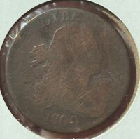 1800 DRAPED BUST LARGE CENT 1800 AG