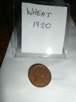 LINCOLN WHEAT CENT 1920P - ALMOST UNCIRCULATED - GREAT DETAI & PRICE