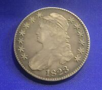 1823 CAPPED BUST SILVER HALF DOLLAR UGLY
