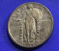 1928 STANDING LIBERTY QUARTER  COLLECTOR COIN   [178]