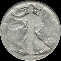 A 1928 S WALKING LIBERTY HALF DOLLAR 90 SILVER US MINT EXACT COIN SHOWN 595