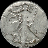 A 1928 S WALKING LIBERTY HALF DOLLAR 90 SILVER US MINT EXACT COIN SHOWN 580