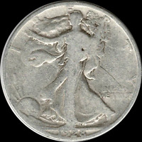 A 1928 S WALKING LIBERTY HALF DOLLAR 90 SILVER US MINT EXACT COIN SHOWN 720