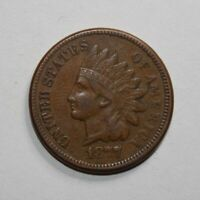 1877 INDIAN HEAD PENNY 1H