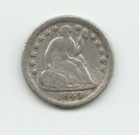 1849-O LIBERTY SEATED US HALF DIME