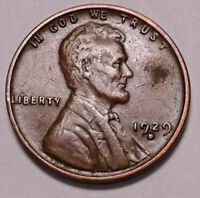 1929 D LINCOLN WHEAT CENT PENNY - NOT STOCK PHOTOS - -  SHIPS FREE