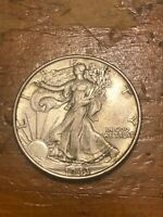 1943 50C WALKING LIBERTY HALF DOLLAR MS