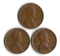 1952P-D-S   LINCOLN WHEAT CENTS