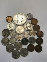 OLD US SILVER COIN LOT AND MORE