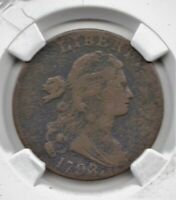 1798 LARGE CENT   VF  DETAIL WITH CORROSION NET FINE COLLECT