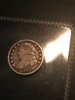 1835 CAPPED BUST DIME,  EARLY DATE SILVER COLLECTOR COIN