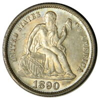 1890 SEATED DIME  BU UNCIRCULATED  PRICED RIGHT