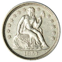1857-O SEATED DIME   EXTRA FINE   PRICED RIGHT
