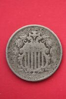 1882 SHIELD NICKEL 5 CENTS EXACT COIN PICTURED FLAT RATE SHIPPING OCE020