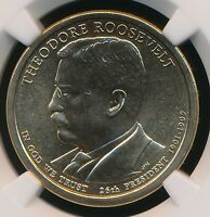 2013-D THEODORE ROOSEVELT DOLLAR NGC MINT STATE 67