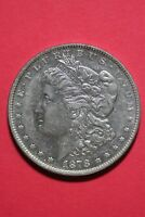1878 P 7/7 TF VAM 41 R5 TOP 100 CLEANED MORGAN SILVER DOLLAR OCE 338