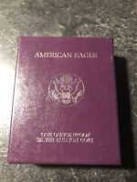1993-P AMERICAN SILVER EAGLE PROOF WITH COA