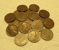 1/2 ROLL OF 1912 D DENVER LINCOLN WHEAT CENTS FROM PENNY COL