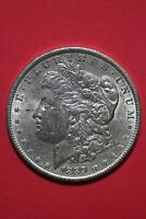 1889 P VAM 28A DOUBLED EAR PITTED REVERSE R7 MORGAN SILVER DOLLAR OCE 186