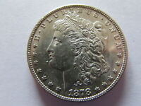 1878 S MORGAN SILVER DOLLAR SAN FRANCISCO MINT $1 LIL PROOF LIKE PL COIN