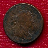 1807 DRAPED BUST COPPER HALF CENT LY CIRCULATED SHIPS FREE