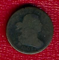 1805 DRAPED BUST COPPER HALF CENT LY CIRCULATED SHIPS FREE
