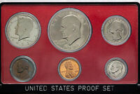 1973-S US MINT PROOF SET COLOR GEM BU FLAWLESS DEEP BLUE NICKEL TONING UNC DR