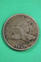1857 FLYING EAGLE CENT EXACT COIN SHOWN COMBINED FLAT RATE SHIPPING OCE 90