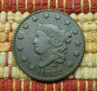 1822 MATRON HEAD LARGE CENT    TOUGH IN BETTER GRADE