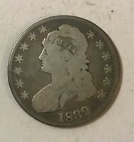 1832 SILVER CAPPED BUST HALF DOLLAR LOWER GRADE AFFORDABLE