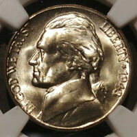 1943 S DOUBLED DIE OBVERSE SILVER JEFFERSON NICKEL   NGC MS66   WDDO 006