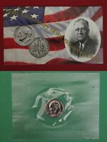 1996 W ROOSEVELT DIME IN MINT CELLO WITH COA
