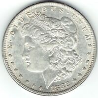 1882-P $1 MORGAN SILVER DOLLAR SLIDER