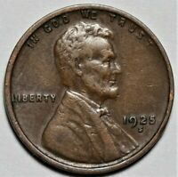 1935 S 1c Lincoln Wheat Cent Penny US Coin AU About Uncirculated