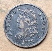 1832 CAPPED BUST HALF DIME  VF/EXTRA FINE