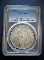 1902 O MORGAN DOLLAR VAM 26A DOUBLED PROFILE & REVERSE LETTERING, CLASHED OBV G