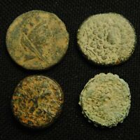 LOT OF FOUR GREEK 'S 29.77 GRAMS TOTAL WEIGHT