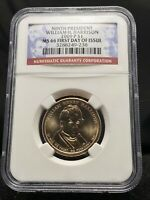 2009-P $1 WILLIAM H. HARRISON PRESIDENTIAL DOLLAR NGC MINT STATE 66 1ST DAY 3161