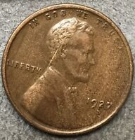 1927 D LINCOLN WHEAT CENT PENNY - HIGHER GRADE  FREE SHIP. A934