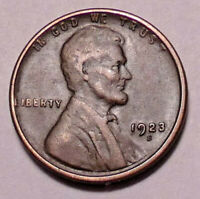 1923 S LINCOLN WHEAT CENT PENNY -    > WHEATS<  - SHIPS FREE