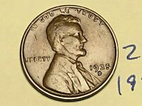1935-D 1C BN LINCOLN CENT WHEAT CENT 2155K