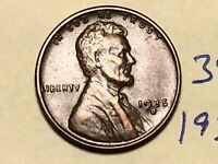 1935-D 1C BN LINCOLN CENT WHEAT CENT 3909K