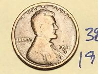 1917 D LINCOLN WHEAT CENT PENNY 3865K
