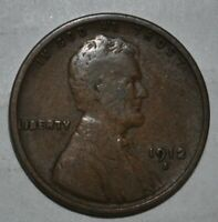 1912-S LINCOLN WHEAT CENT G150