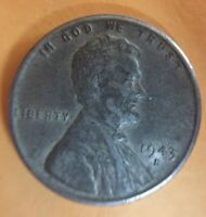 1943-D LINCOLN WHEAT ONE CENT D/D MINT MARK?