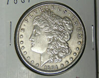 1884 MORGAN SILVER DOLLAR EXTRA FINE /AU PHILADELPHIA MINT DOLLAR 52420