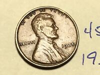 1935 1C BN LINCOLN CENT WHEAT CENT 4588K