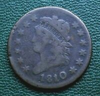 1810/09 CLASSIC HEAD LARGE CENT, VG