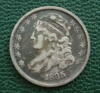 1835 CAPPED BUST DIME, VF    FULL LIBERTY     EXAMPLE FOR YOUR TYPE SET