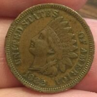 1882 INDIAN HEAD CENT AVERAGE CONDITION COIN  FULL LIBERTY [LOT334]